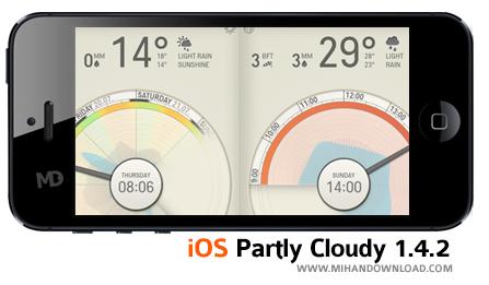 Partly Cloudyy دانلود نرم افزار Partly Cloudy برای آیفون