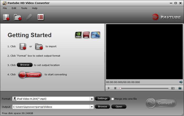 Pavtube  دانلود Pavtube HD Video Converter 4.8.6.5 نرم افزار مبدل گیرنده های دیجیتال