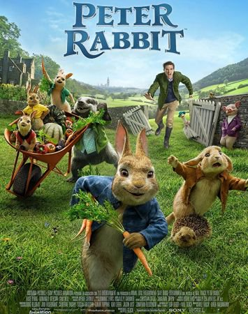 Peter Rabbit 1 دانلود انیمیشن Peter Rabbit 2018
