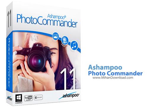 Photo Commander نرم افزار ویرایش و مدیریت حرفه ای تصاویر Ashampoo Photo Commander 11 1 0