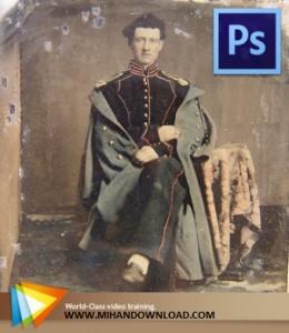 Photo Restoration in Photoshop 260x300 فیلم آموزش رتوش و ترمیم عکس با فتوشاپ   Photo Restoration in Photoshop