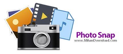 Photo Snap icon دانلود Photo Snap نرم افزار مشاهده و ویرایش فایل های چند رسانه ای