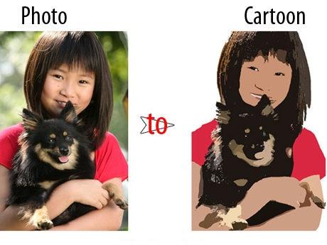 Photo to Cartoon دانلود نرم افزار تبدیل عکس به کارتون یا نقاشی Photo to Cartoon 4.0.3655.33483