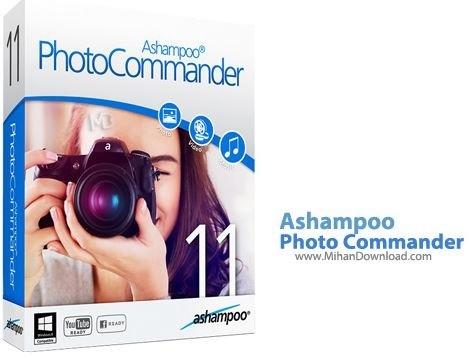 PhotoCommander نرم افزار ویرایش و مدیریت حرفه ای تصاویر Ashampoo Photo Commander 11 1 2