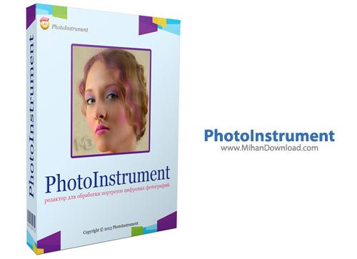 PhotoInstrument1 نرم افزار روتوش تصاویر PhotoInstrument 6 8 Build 687