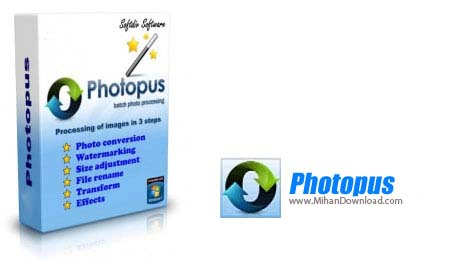 Photopus icon2 نرم افزار برای نوشتن روی عکس
