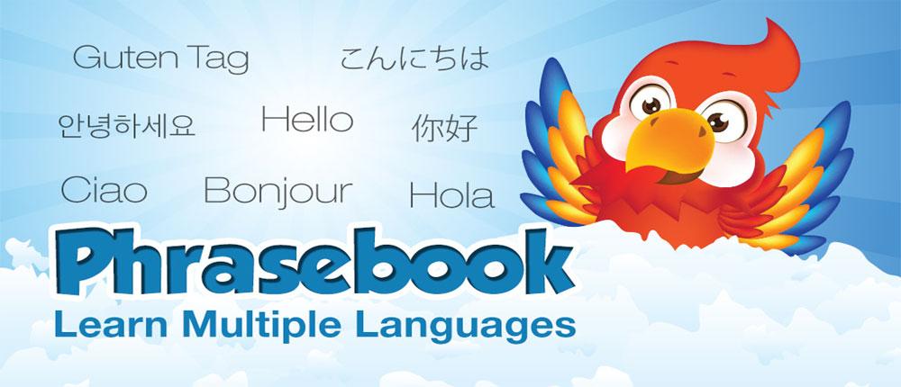 Phrasebook Pro Learn Languages دانلود آموزش زبان در سفر برای آندروید