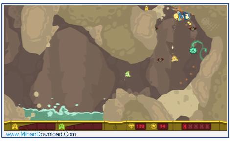PixelJunk Shooter RIP 1 دانلود بازی سفینه ی نجات PixelJunk برای کامپیوتر