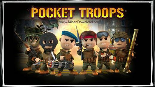 PocketTroops icon2 دانلود بازی اکشن و استراتژیک سربازان جیبی برای آندروید
