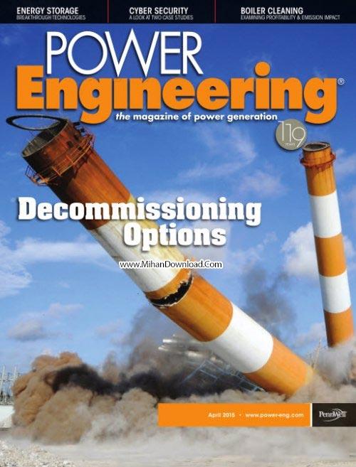 Power Engineering April 2015 دانلود مجله مهندسی قدرت Power Engineering April 2015