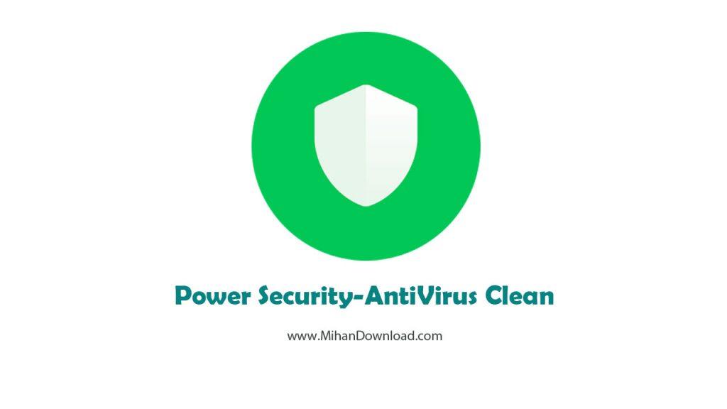 Power Security AntiVirus Clean icon 1024x576 دانلود Power Security AntiVirus Clean آنتی ویروس قوی برای آندروید