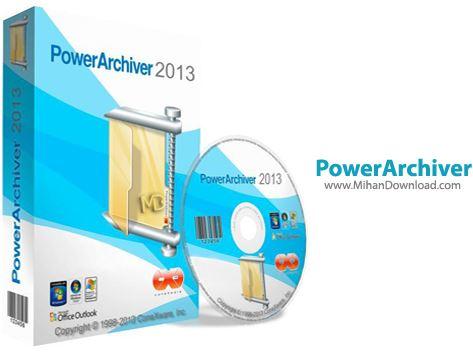 PowerArchiver نرم افزار فشرده سازی PowerArchiver 2013 14 02 05 Final