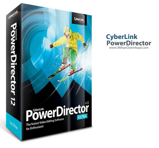 PowerDirector دانلود CyberLink PowerDirector 12 0 2230 0 Final نرم افزار تدوین فیلم