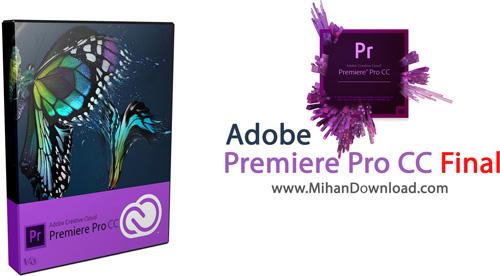 Premiere Pro CC دانلود نرم افزار پریمیر Adobe Premiere Pro CC 7 2 1 Final
