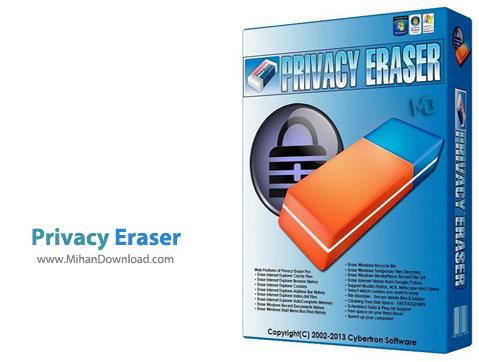 Privacy Eraser دانلود Privacy Eraser 2.10 Build 756 نرم افزار پاکسازی دائمی فایل های شخصی و فعالیت های کامپیوتری