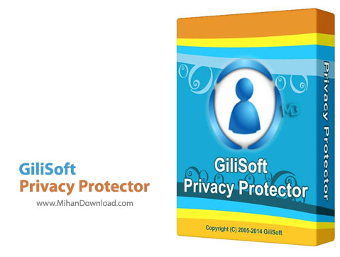 Privacy Protector دانلود GiliSoft Privacy Protector 6.0 DC 26.05.2015 نرم افزار محافظت از حریم شخصی