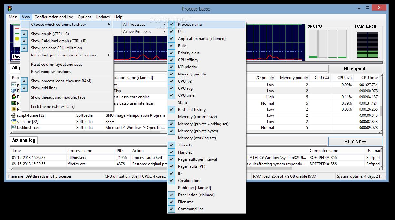 Process Lasso 6 دانلود Process Lasso Pro 6.8.0.8 نرم افزار بهینه سازی ویندوز