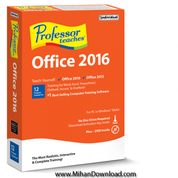 Professor Teaches Office 2016 e1510916395364 دانلود Professor Teaches Office 2016 v1.0 نرم افزار آموزش آفیس 2016