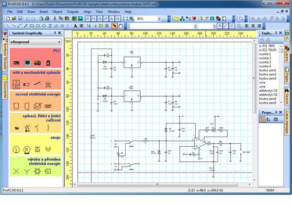 ProfiCAD دانلود نرم افزار ساخت مدارهای الکترونیکی ProfiCAD 8.4.1