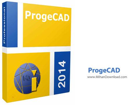 ProgeCAD نرم افزار نقشه کشی ProgeCAD 2014 Professional 14 0 6 15