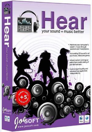 Prosoft Hear دانلود نرم افزار افزایش کیفیت صدای فیلم و موسیقی Prosoft Hear 1.0.1739