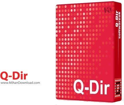 Q Dir 1 دانلود Q Dir 5.99.9 نرم افزار مدیریت فایل ها