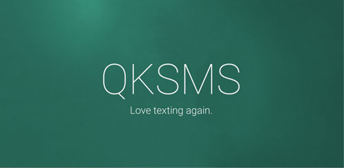 QKSMS دانلود نرم افزار مدیریت اس ام اس ها QKSMS – Quick Text Messenger 2.1.0 اندروید