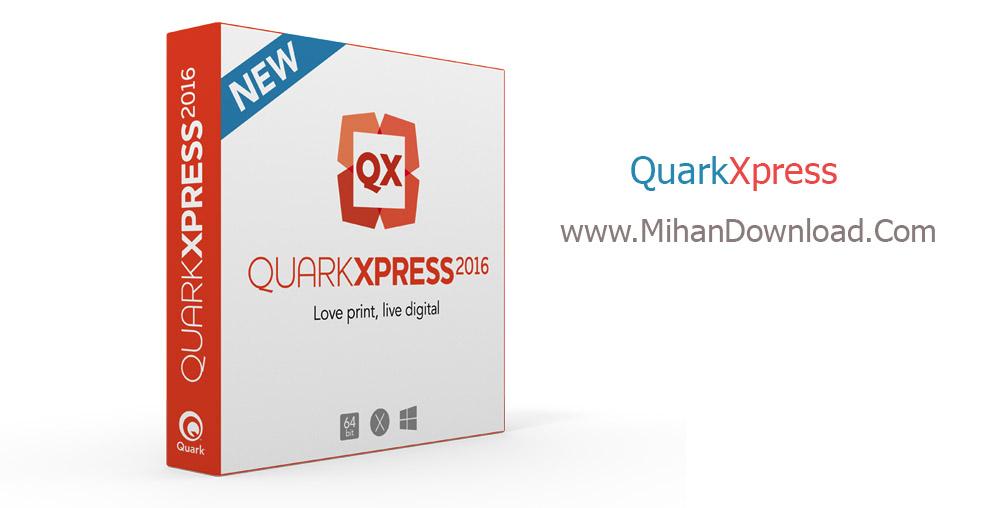 QX2016box leftfront دانلود نرم افزار ویرایش تصاویر QuarkXPress 2016 12.1