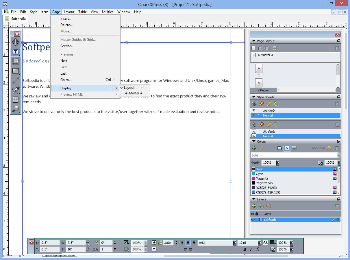 QuarkXPress 6 نرم افزار طراحی گرافیکی QuarkXPress 10 1