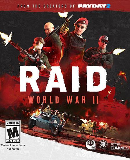 RAID World War II دانلود بازی RAID World War II برای کامپیوتر