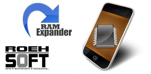 RAM EXPANDER.jp  دانلود نرم افزار افزایش رم ROEHSOFT RAM Expander (SWAP) 3.35 اندروید