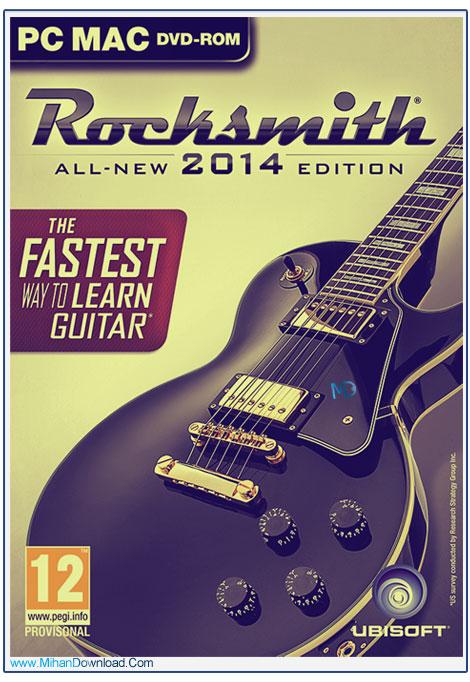 دانلود بازی Rocksmith 2014شبیه ساز راک