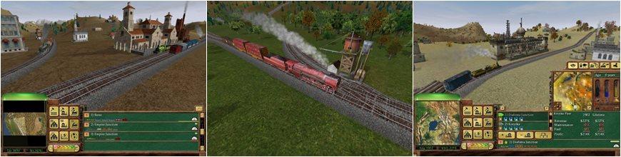Railroad Tycoon 3 دانلود بازی شبیه سازی صنعت راه آهن برای کامپیوتر
