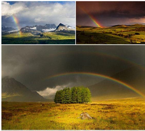 Rainbow دانلود والپیپر رنگین کمان