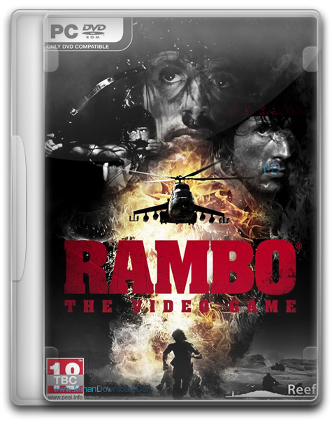 Rambo The Video Game 1 دانلود بازی رامبو Rambo The Video Game