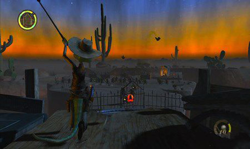 Rango The Videogame XBOX360 2 دانلود بازی رنگو Rango The Videogame