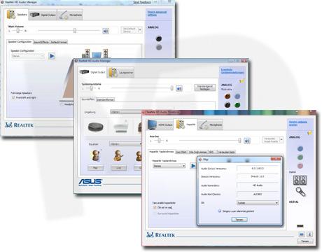 Realtek1 دانلود Realtek High Definition Audio Driver R2.79 درایور کارت صدا