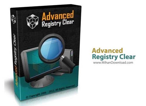 Registry Clear1 نرم افزار بهینه سازی ریجستری Advanced Registry Clear 2 3 9 6