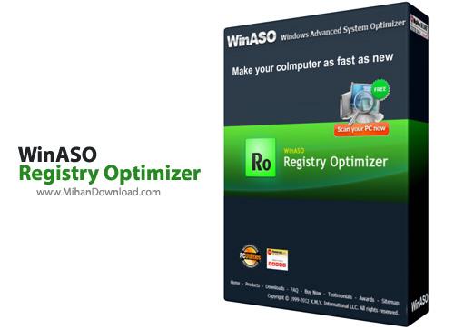Registry Optimizer دانلود نرم افزار بهینه سازی رجیستری WinASO Registry Optimizer 4 8 5 0