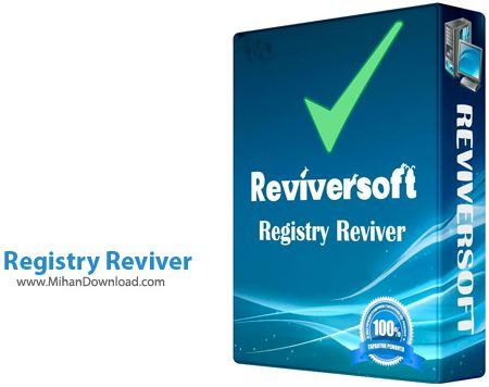Registry Reviver نرم افزار پاکسازی و ترمیم رجیستری Registry Reviver 3 0 1 152
