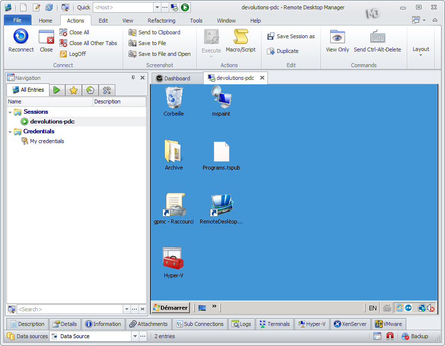 Remote.Desktop.Manager1 دانلود نرم افزار مدیریت ریموت دسکتاپ Remote Desktop Manager Enterprise 11.5.4.0
