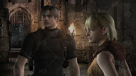 Resident Evil 4 5 دانلود بازی قدیمی شهر ترس Resident Evil 4