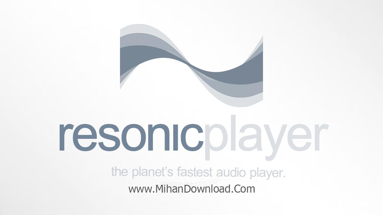 Resonic دانلود نرم افزار اجرای فایل های صوتی Resonic Player 0.7.6b