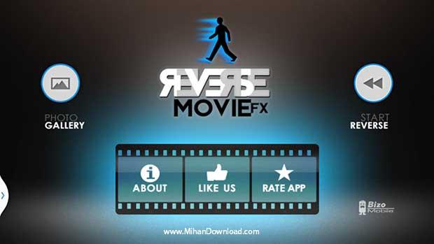 Reverse Video Maker Pro دانلود Reverse Video Maker Pro نرم افزار معکوس کننده فیلم برای آندروید