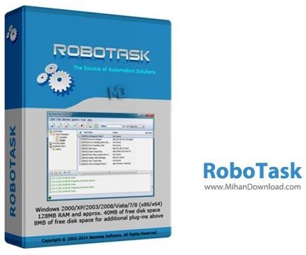 RoboTask نرم افزار اجرای خودکار کارها RoboTask 6 0 0 846