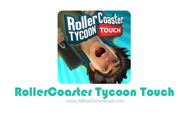 RollerCoaster Tycoon Touch icon دانلود بازی شبیه ساز شهربازی برای آندروید + مود
