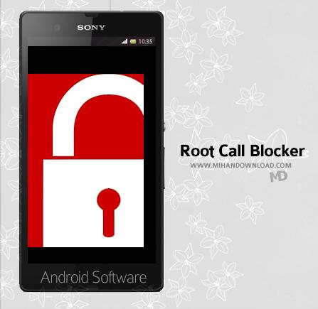 Root Call Blocker Pro دانلود نرم افزار Root Call Blocker Pro برای آندروید