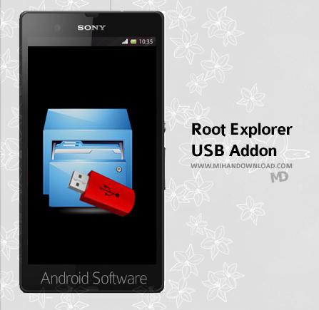 Root Explorer USB Addon  دانلود نرم افزار Root Explorer USB Addon برای آندروید