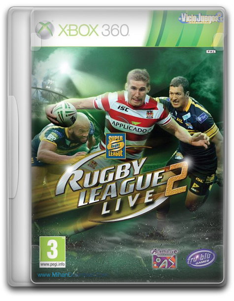 Rugby League Live 2 World Cup Edition PAL XBOX360 1 دانلود بازی مسابقات راگبی Rugby League Live 2 World Cup Edition