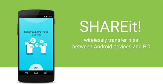 SHAREit دانلود نرم افزار انتقال و دریافت فایل SHAREit 3.0.8 اندروید